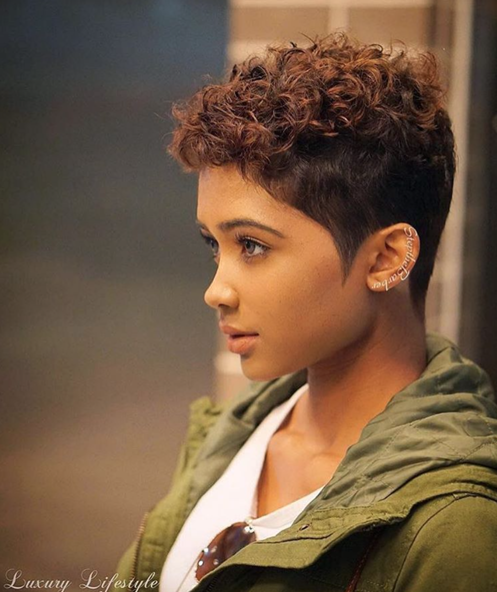 African American Pixie Haircuts: Beautiful @jasminealea_ Read The Article Here