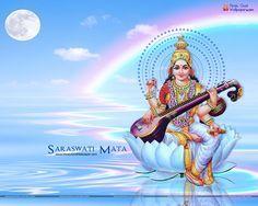 Jai Maa Saraswati Wallpaper Hd Wallpapers Download Wallpaper Downloads Maa Wallpaper Saraswati Mata