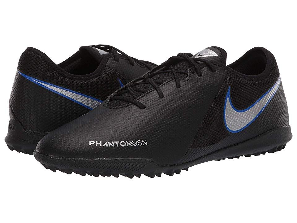 pretty nice ac8a5 9a36b ... new zealand nike phantom vsn academy tf hombres soccer zapatos negro  metallic silver silver negro metallic