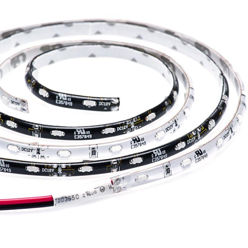 Outdoor Led Strip Lights Weatherproof 12v Led Tape Light Side Emitting 59 Lumens Ft Strip Lighting Led Light Strips Led Strip Lighting