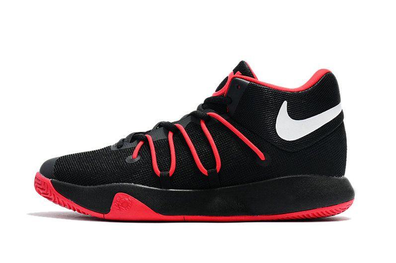 90af21891ec5 Cheap New Kevin Durant Shoes KD Trey 6 VI EP Black University Red ...