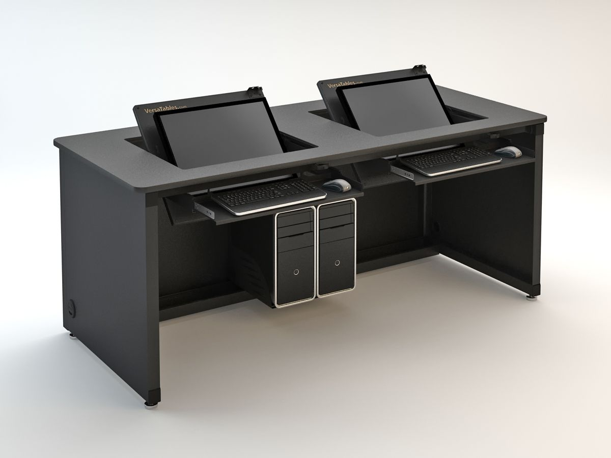 Revolution Computer Desk 72 Wide Available for one or two users