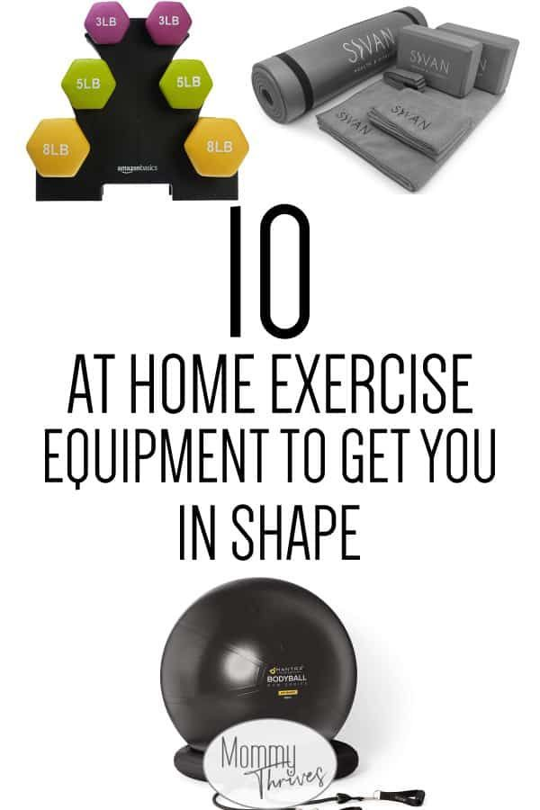 10 Affordable At Home Exercise Equipment Options #exerciseequipment At Home Fitness Equipment For Be...