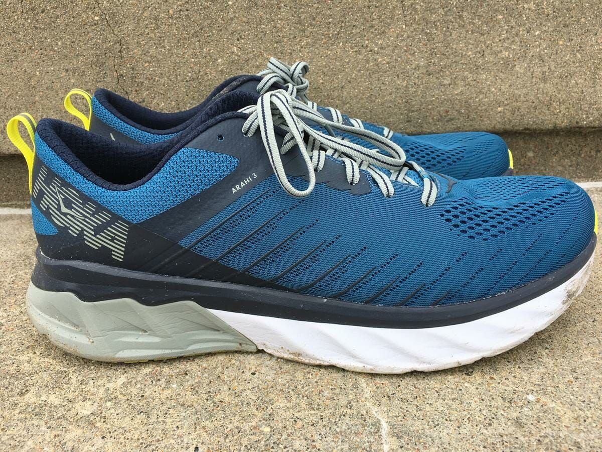 hoka one one stability trail shoes