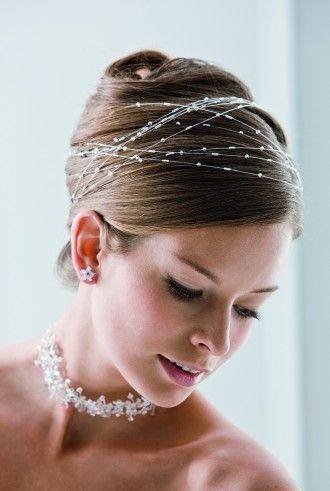 Braut haarschmuck  Braut Haarschmuck / Haarranke 50cm | Makeup | Pinterest | Braut ...