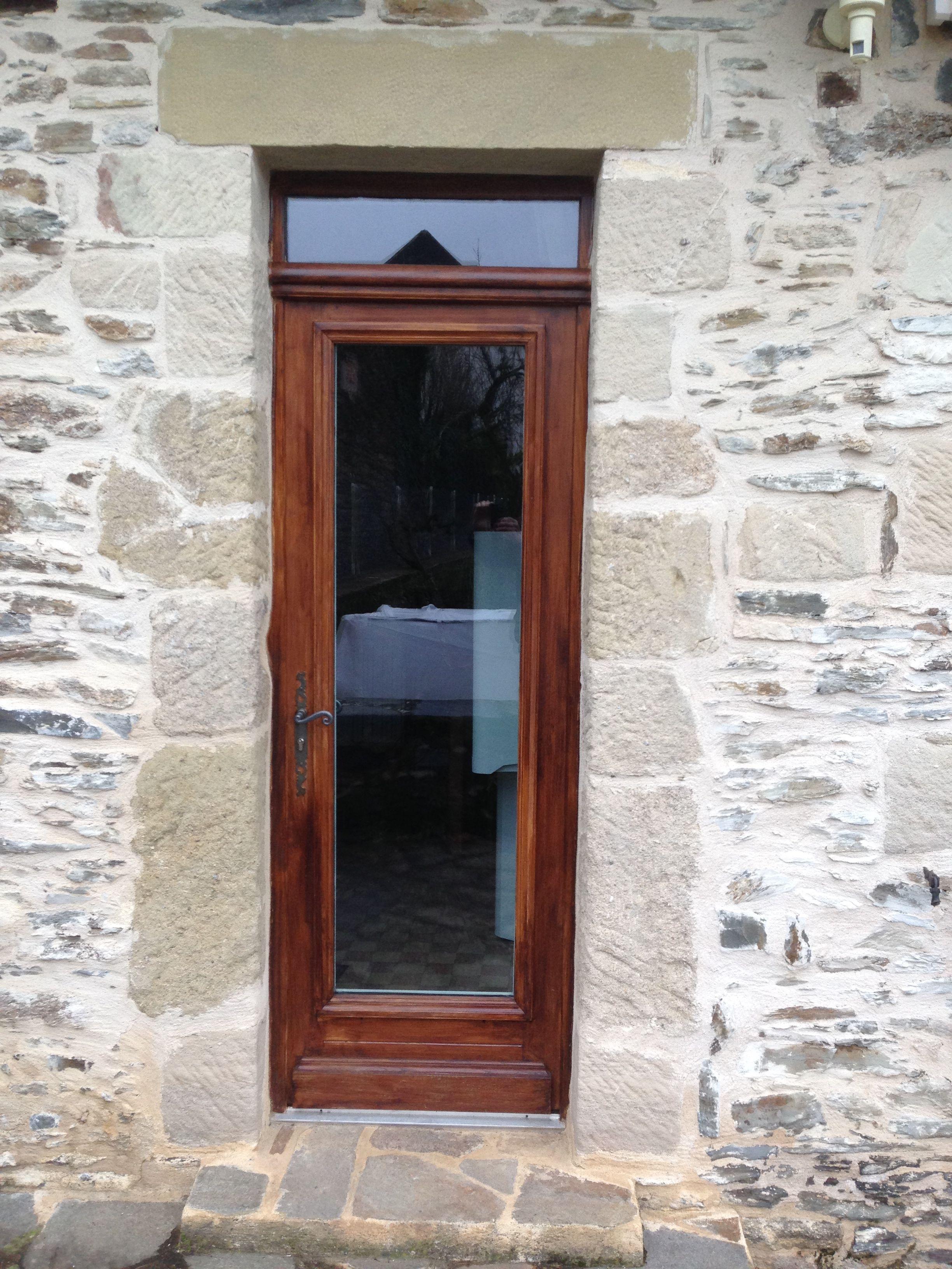 Porte d 39 entr e 1 vantail enti rement vitr e avec moulure imposte vitr e portes d 39 entree - Imposte porte d entree ...
