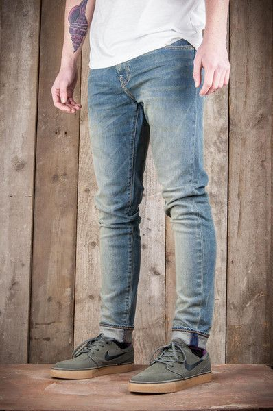 ec605aed59 Levi s 520 Extreme Tapered Fit Jeans Mid Mod Blue