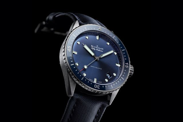 Blancpain Fifty Fathoms Bathyscaphe with plasma ceramic case   Time and Watches