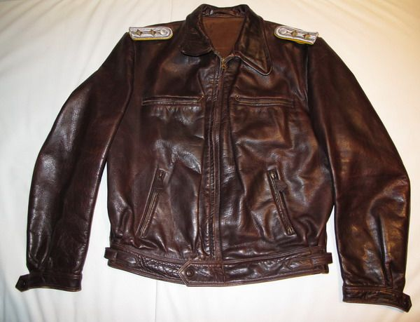 ed66b6557 Details about WW2 GERMAN LUFTWAFFE FLYER LEATHER FLIGHT JACKET ...