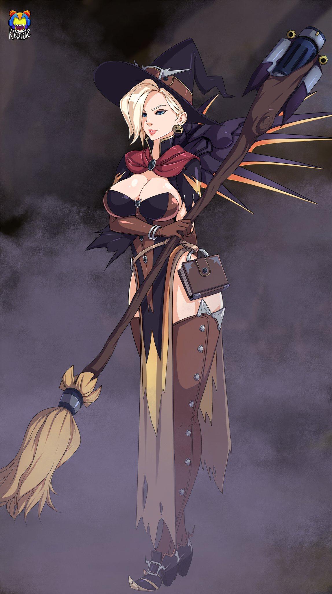Pin by Manoki on Witch Mercy | Pinterest | Overwatch mercy