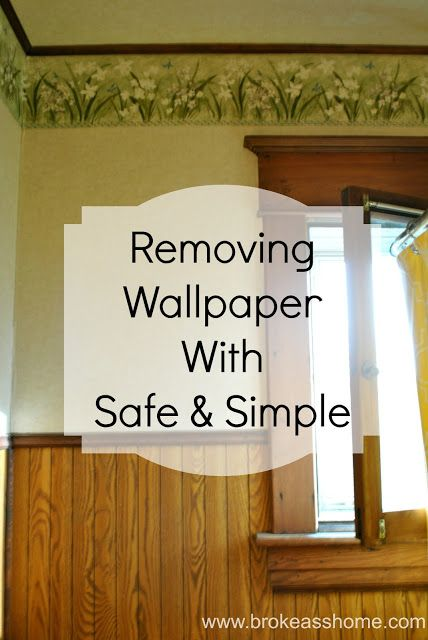 Removing Wallpaper using Safe and Simple 603 Formula