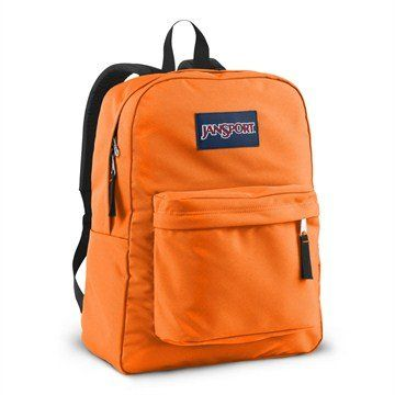 Jansport Backpacks Girls Neon Orange. Simple design with one ...
