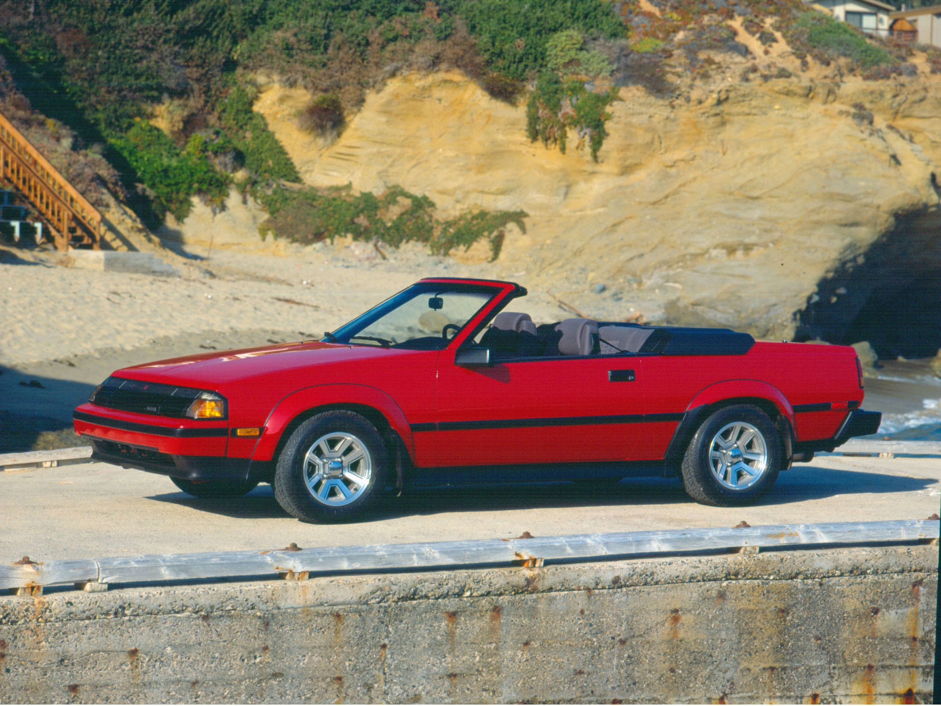 In 1984 our first convertible hit the road. #vintage #toyota ...