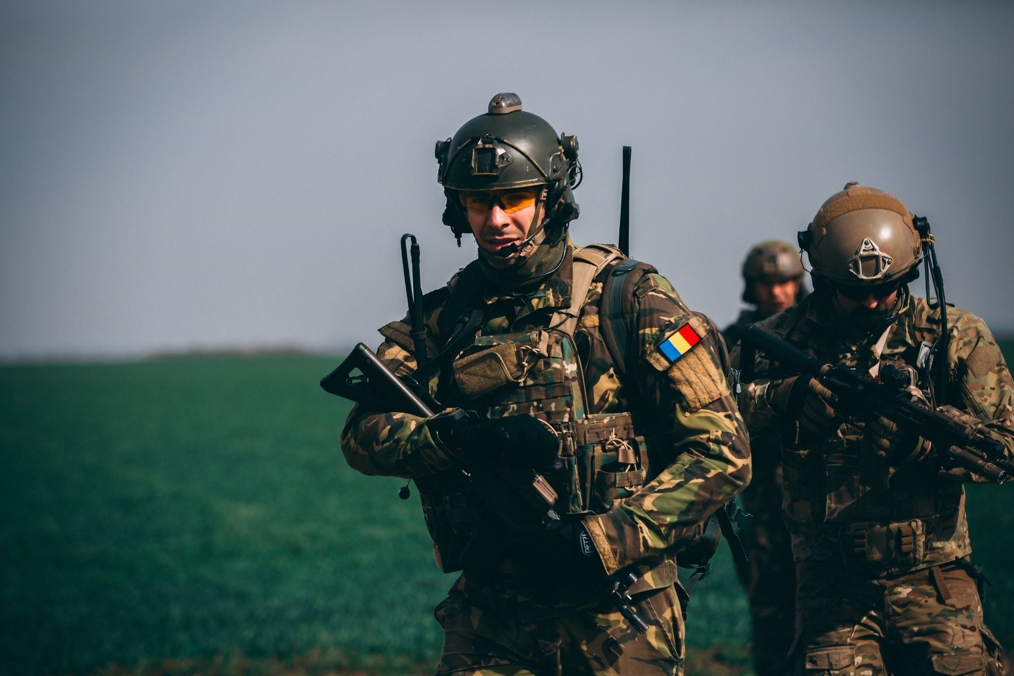 321st Special Warfare Airmen with Romanian and Polish SOF