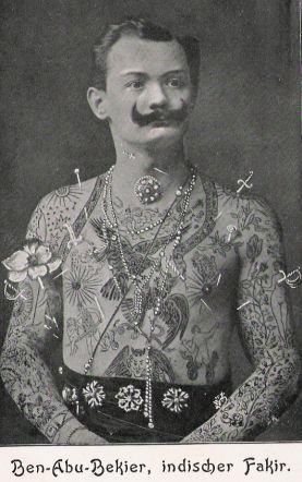 Victorian tattooed man google search shockheaded peter for Tattoo freak costume