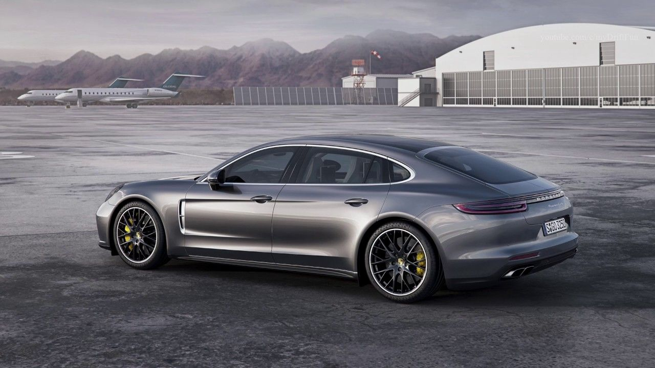 2017 Porsche Panamera Turbo Executive Volcano Grey   Awesome Drive 550 Hp