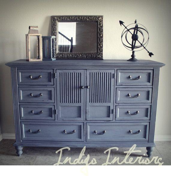 Best Painted Dresser Gorgeous Dark Gray Dresser Chest Tv 400 x 300