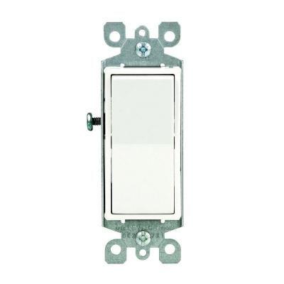 Leviton Decora 15 Amp 3 Way Switch White R62 05603 2ws Leviton Home Depot Decora