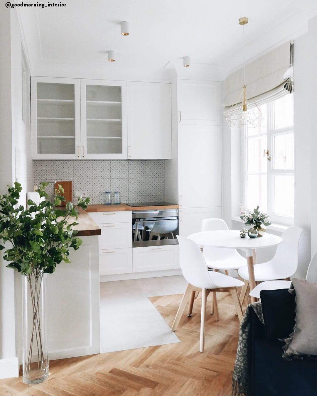 Idee Soggiorno Cucina Piccolo sala cucina open space