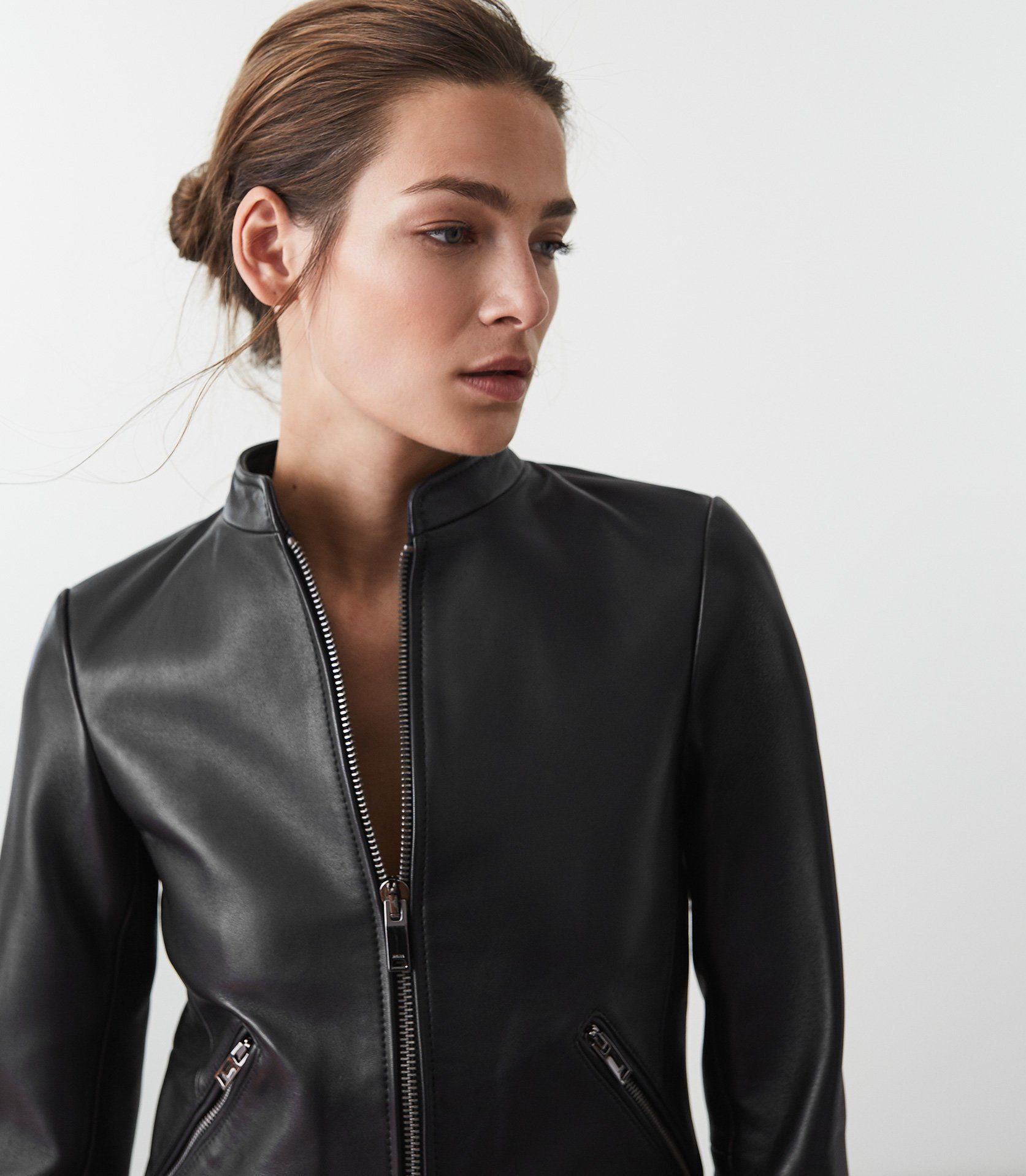 Aries Leather Jacket Reiss Leather Jackets Women Buy Leather Jacket Leather Jacket [ 1918 x 1673 Pixel ]