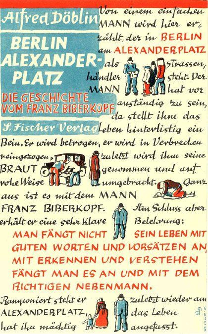 Berlin Alexanderplatz Die Geschichte Vom Franz Biberkopf Alfred Doblin Http Fama Us Es Record B1237217 S5 Spi Enem Berlim Livros