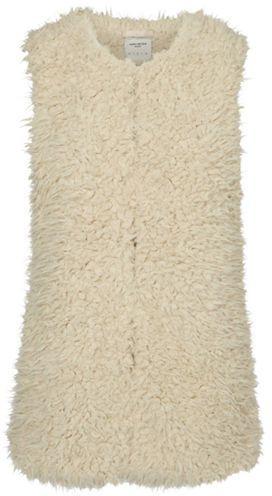 Vero Moda Fuzzy Faux Fur Vest