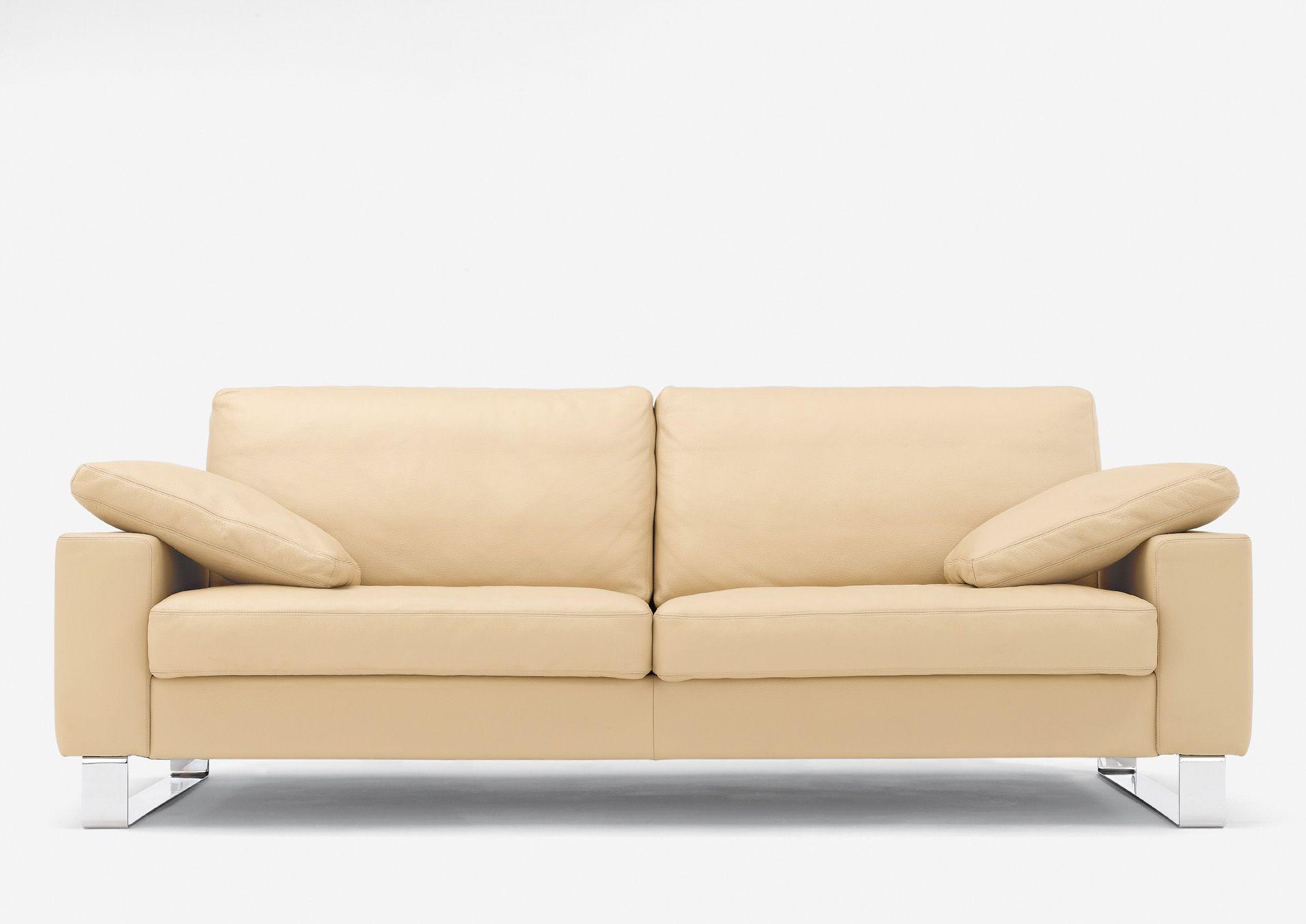 Polstermöbel Färben modernes sofa leder creme in verschiedenen farben erhältlich