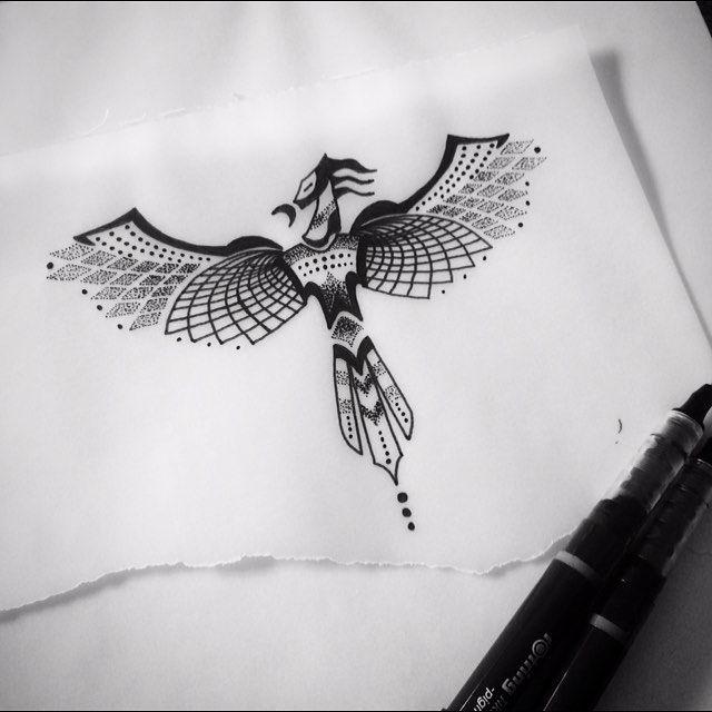 Phoenix Tattoofinder: Symmetrical Phoenix Tattoo - Google Search