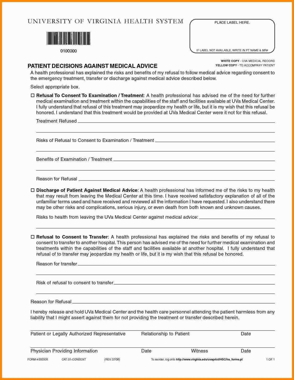 Hospital Discharge Papers Template Awesome 21 Carry Hospital