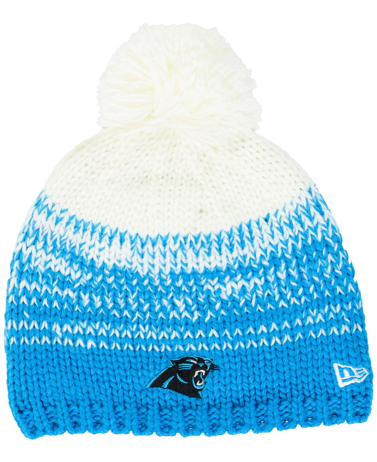 ba7ec1e5979 ... get new era womens carolina panthers polar dust knit hat sports fan  shop by lids men