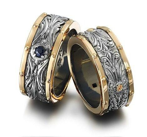 engraved+camo+wedding+bands+Set+for+him+her | Woody | Pinterest ...