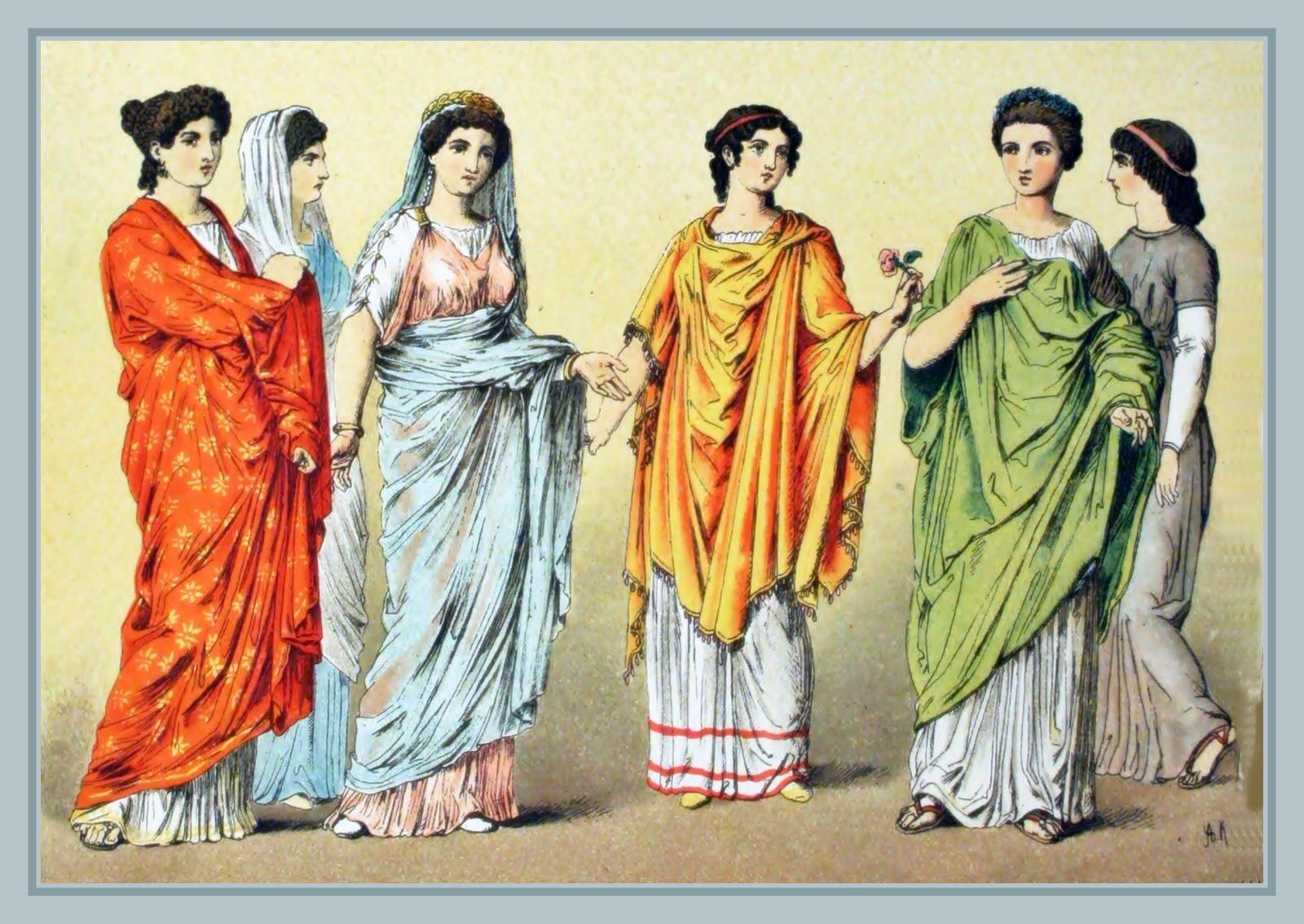 Resultat d'imatges de la dona romana