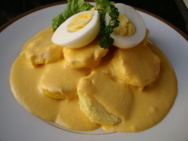 Peruvian Food Papa A La Huancaina Recipe