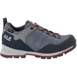 Photo of Jack Wolfskin Waterproof women hiking shoes Scrambler Lite Texapore Low Women 40 gray Jack Wolfsk