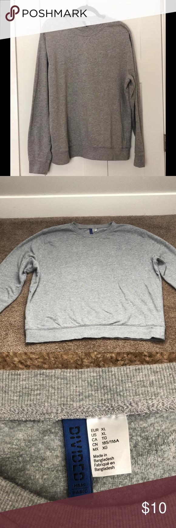 Divided By H M Men S Sweatshirt H M Men Sweatshirts Divide Shirts [ 1740 x 580 Pixel ]