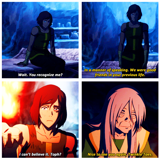 #Toph Still Calls The Avatar Twinkletoes!