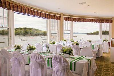 Weddings At The Bar Harbor Inn In Near Acadia Np Maine