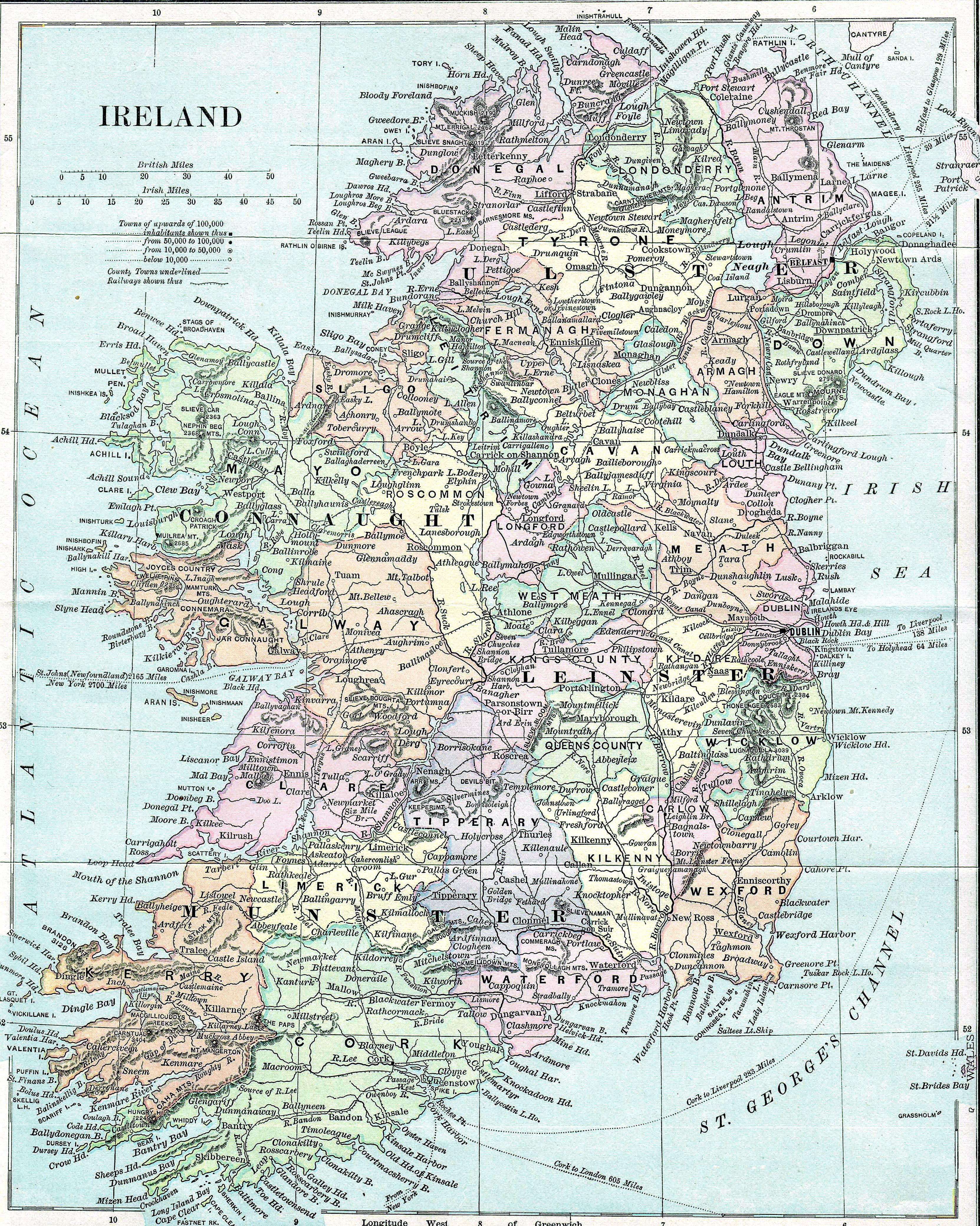 Map Of Ireland Kinsale My Wild Irish Rose Ireland Ireland