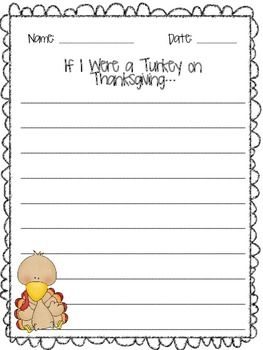 thanksgiving journal prompts elementary
