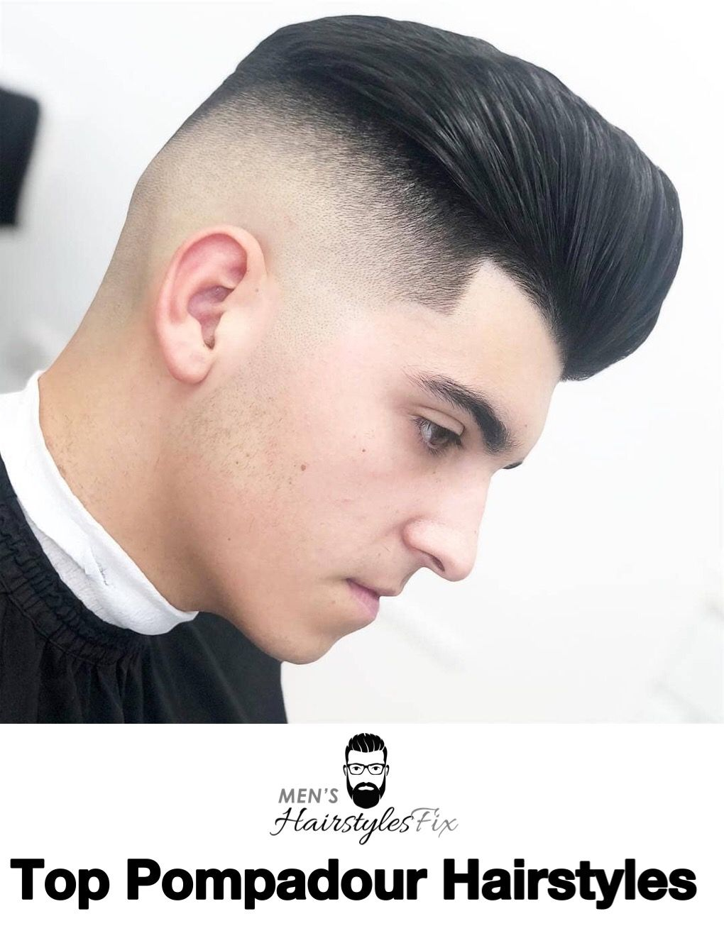 Top pompadour hairstyles for barbas pinterest