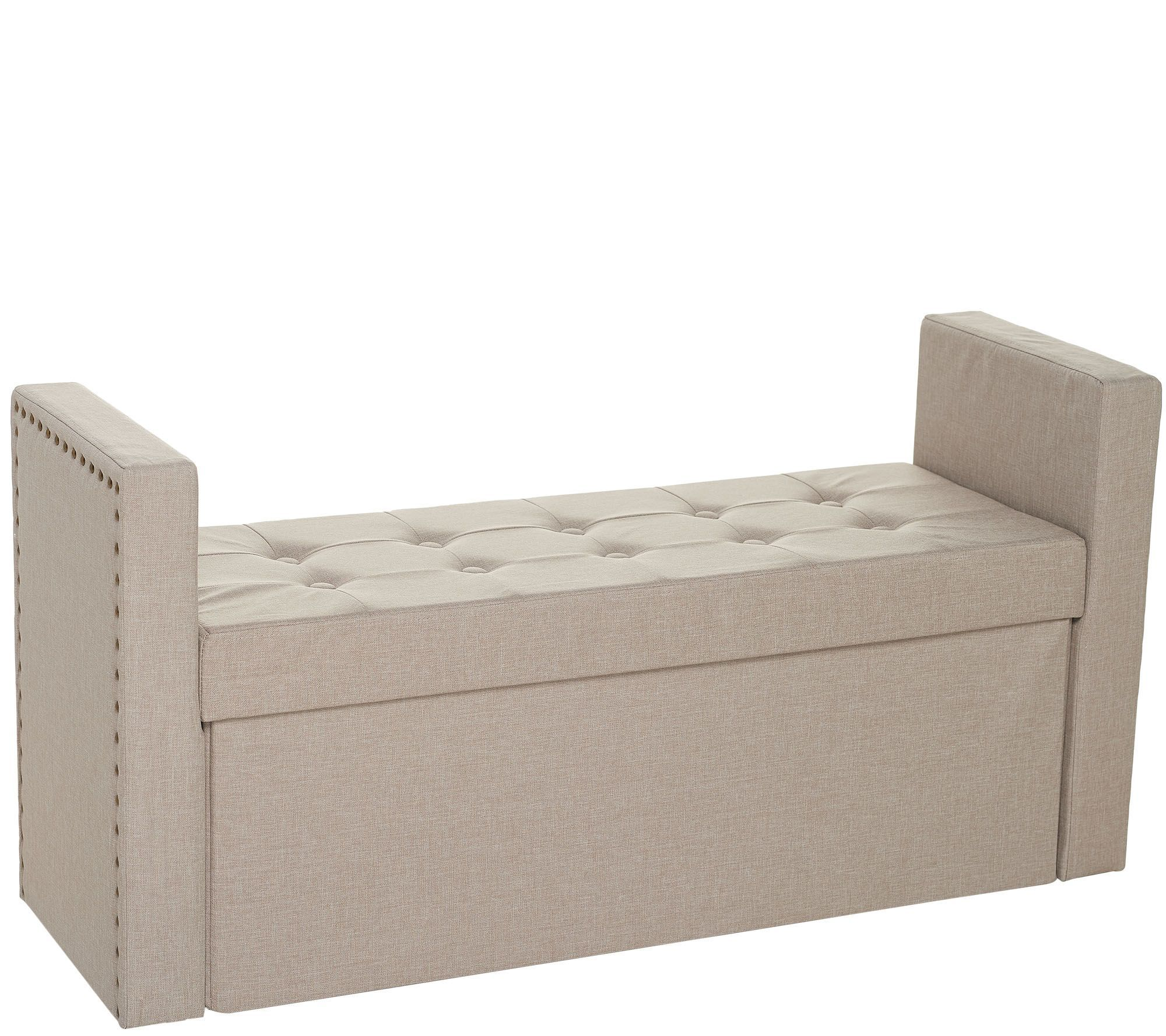 Remarkable Inspire Me Home Decor 45 Collapsible Storage Bench With Inzonedesignstudio Interior Chair Design Inzonedesignstudiocom