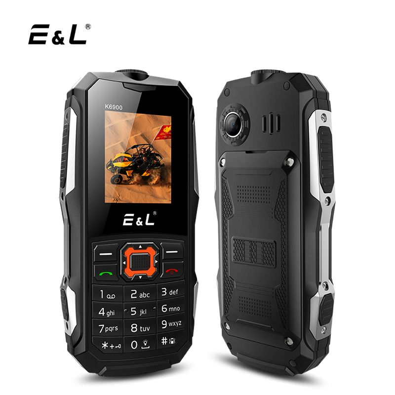 El k6900 ip68 cellphone 2g gsm unlocked dual sim card