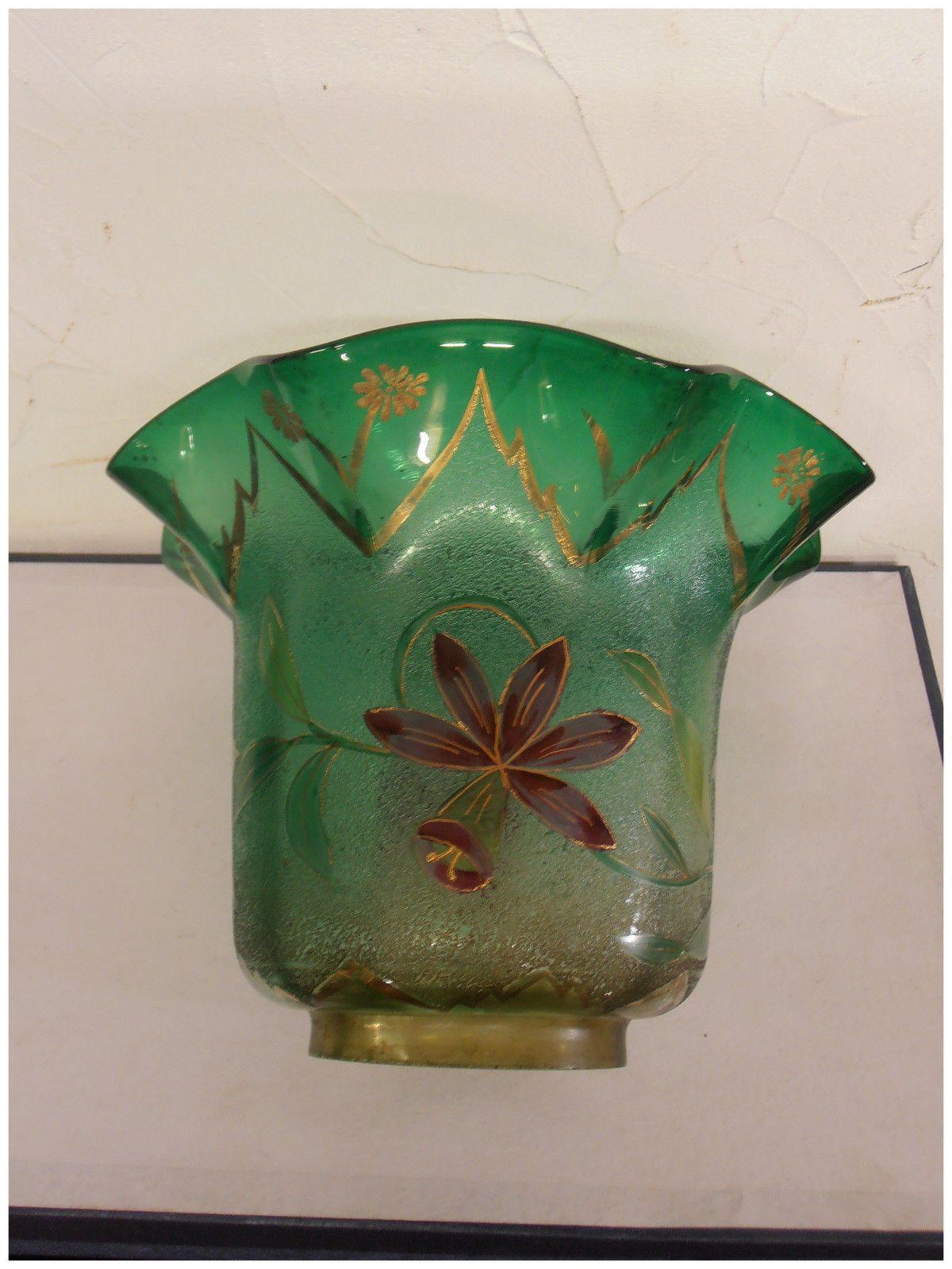 Tulipe De Lampe A Petrole Petroleum Lamp Tulip Cristal De Baccarat Ebay Baccarat Lamp Smoke Bell