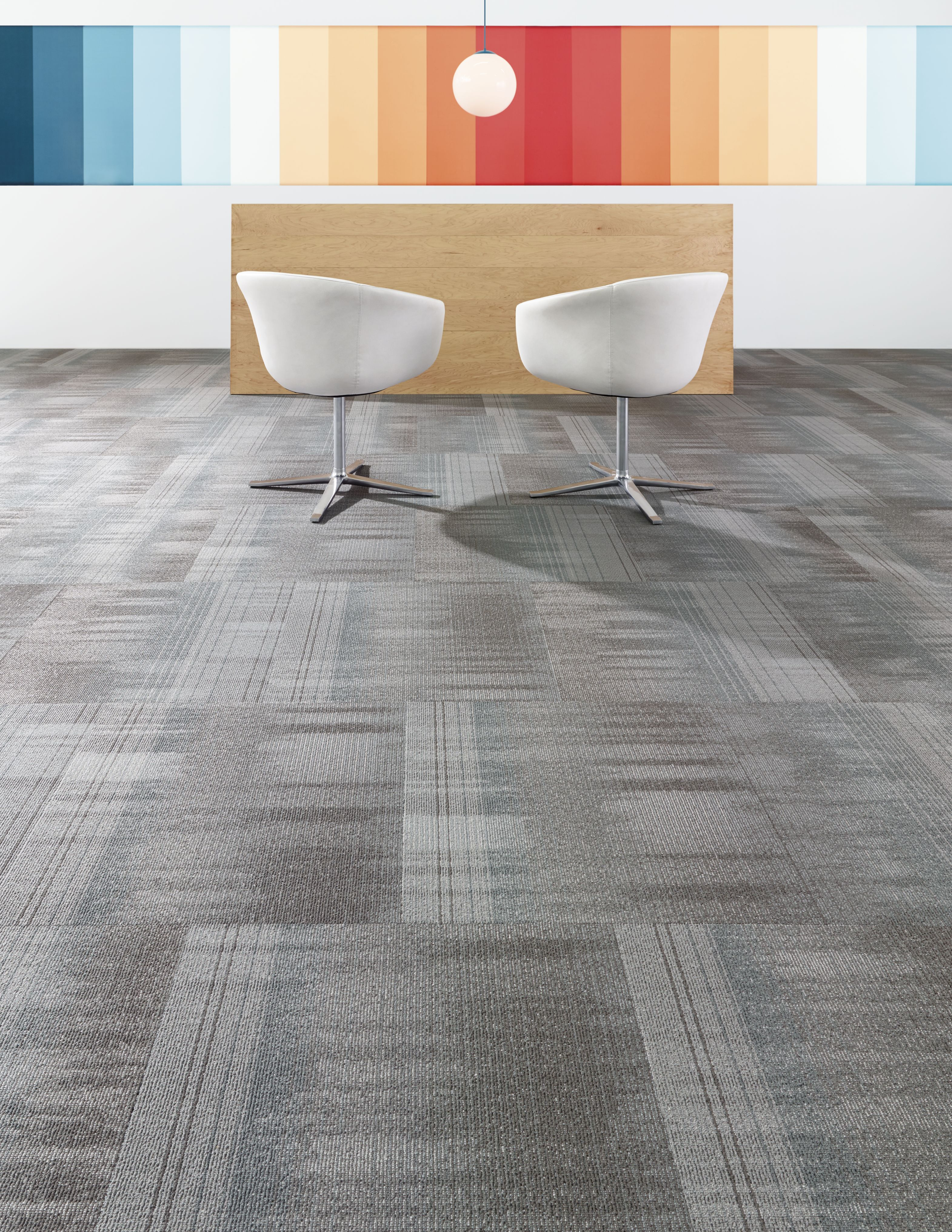 Unwind Carpet Tile Medium Scale Pattern Inspired By The Period