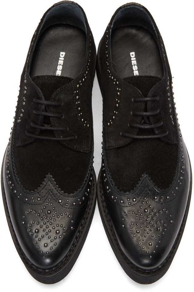 99f23285b10 Diesel - Black D-Aseree Derbys   My Swag in 2019   Shoes, Dress ...