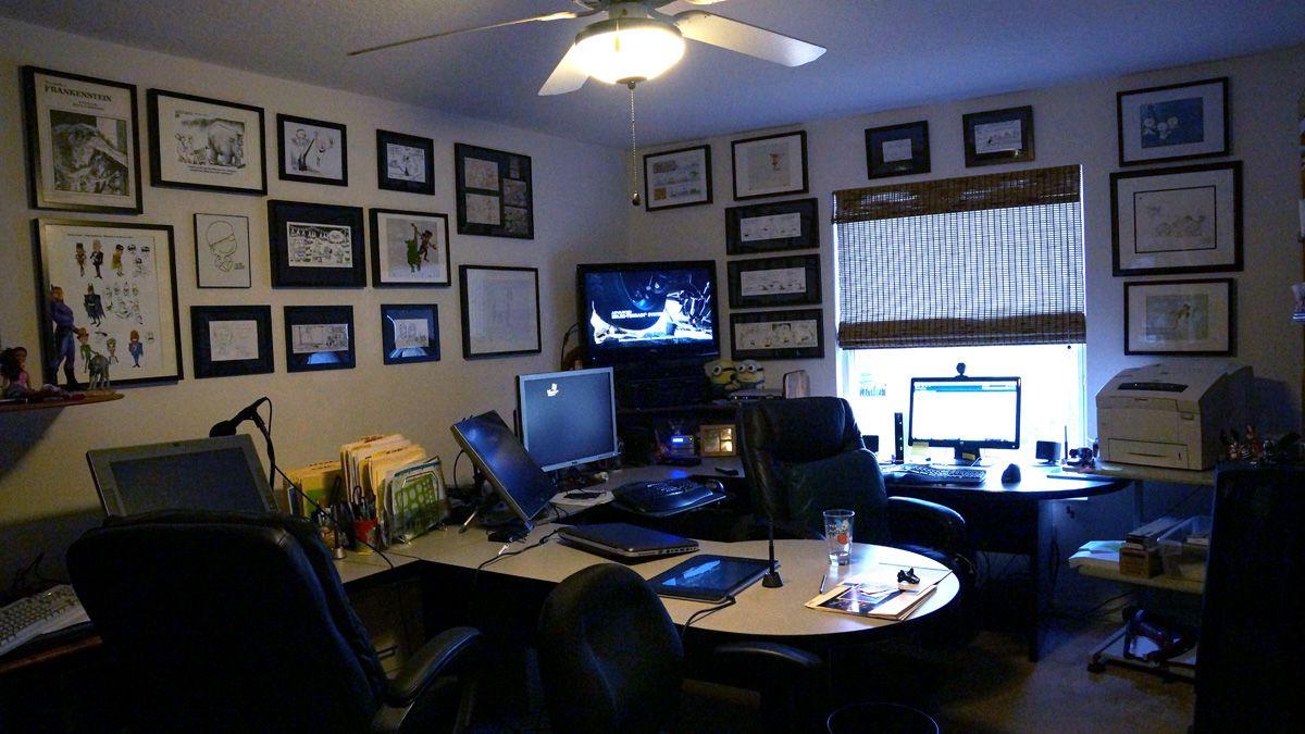 Marvelous Home Computer Room Design Edeprem Com Inspirational Interior Design Netriciaus