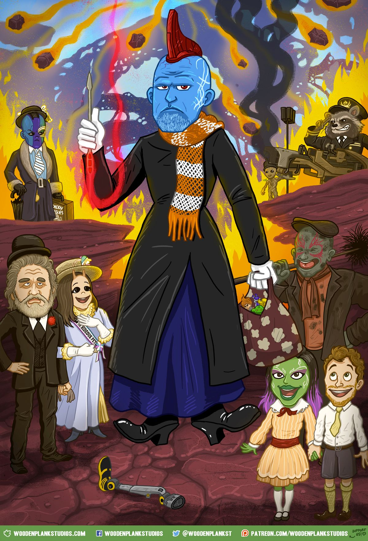 Amusing Guardians Of The Galaxy Vol 2 And Mary Poppins Mashu