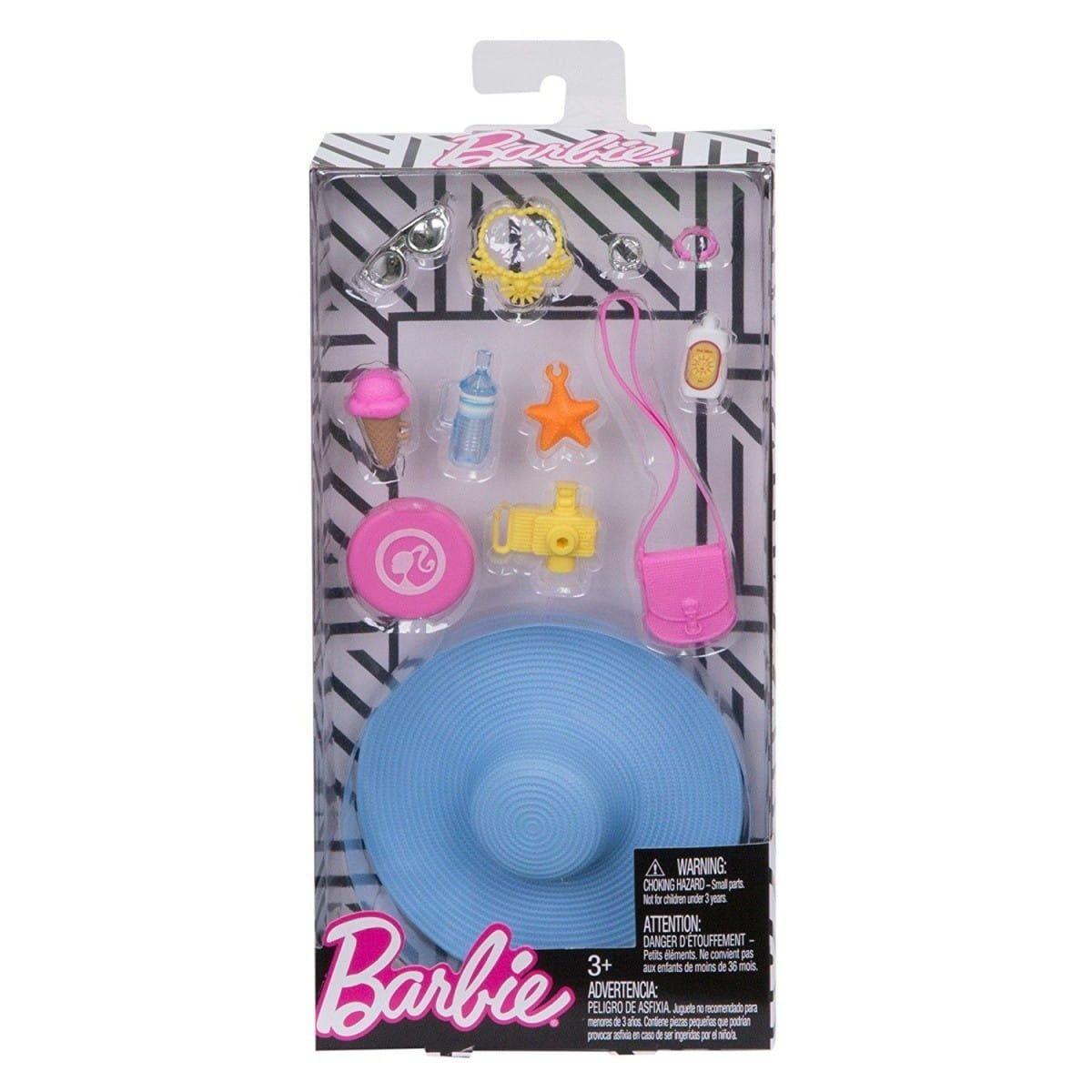 Zestaw Akcesoriow Na Plaze Barbie In 2020 Barbie Sets Barbie Toys Barbie Dolls