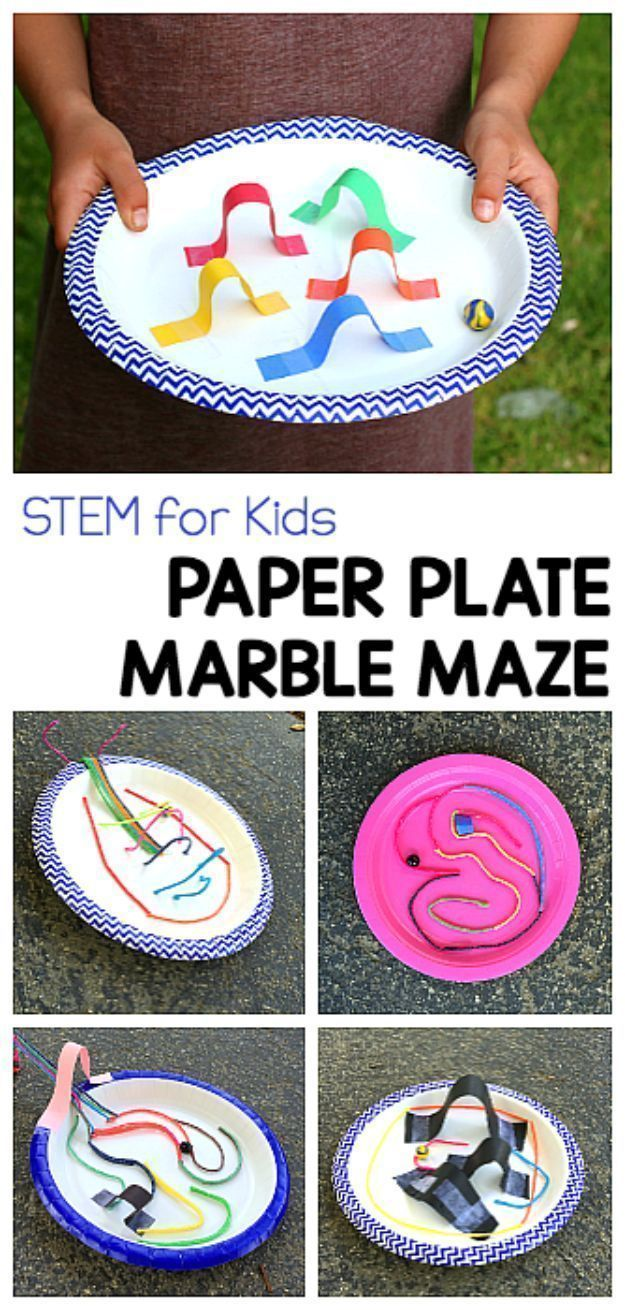 Diy stem and science ideas for kids and teens paper plate marble diy stem and science ideas for kids and teens paper plate marble maze fun and easy do it yourself projects and crafts using math electronics solutioingenieria Choice Image