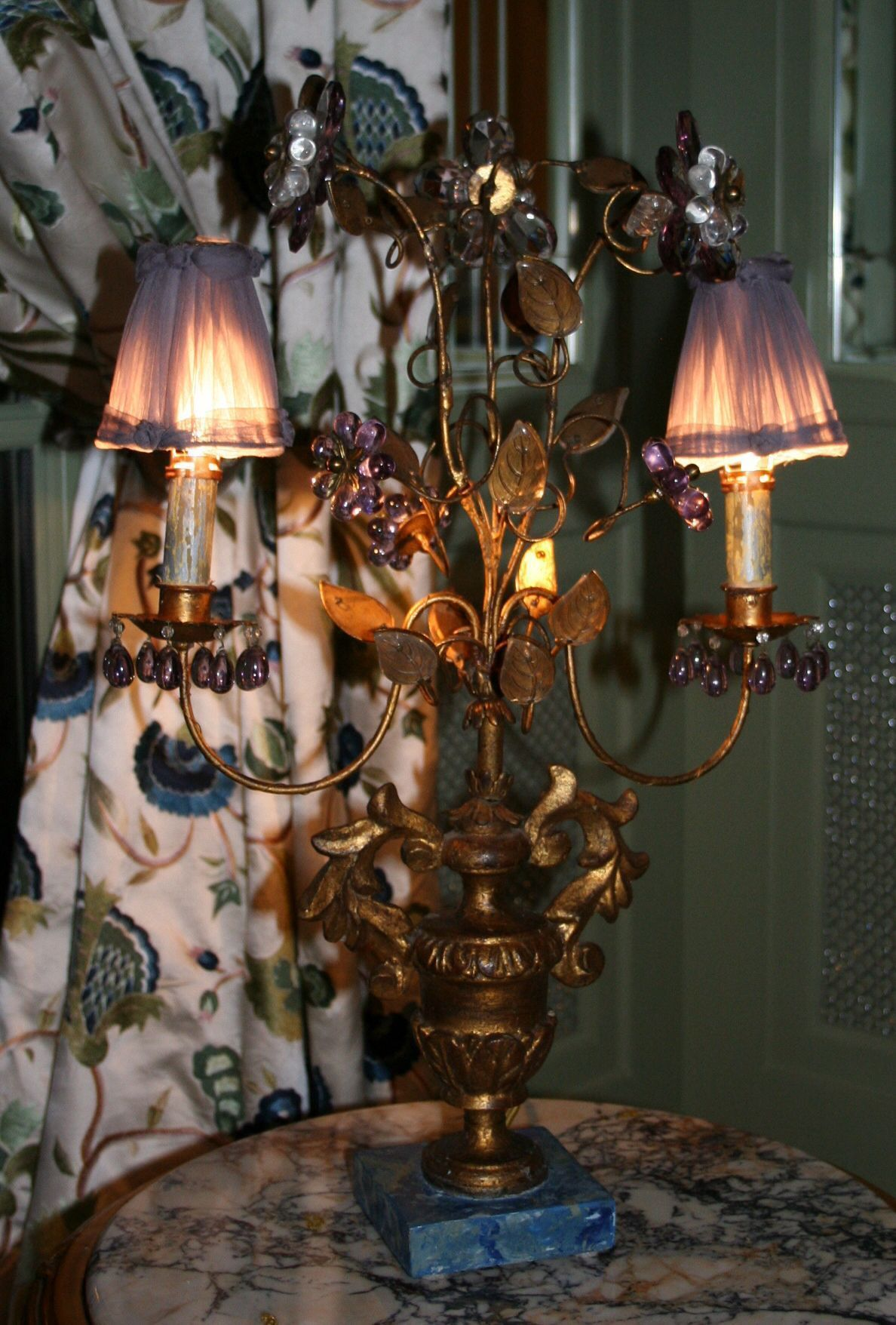 A Mid 19th Century Italian Candlestick Its One Of Pair I Wiring Wooden Lamp Rewired These